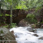 Cobblestone Bridge, Part of the Carriage Roads of Acadia National Park, Maine