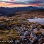 Sylvester Lake Landscape at dawn, Kahurangi National Park, South Island, New Zealand
