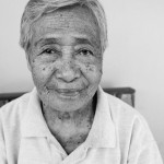 The weathered face of a lifetime resident of Camotes Island, Philippiens
