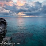 Dawn over the crytal clear waters around Apo Island, Philippines
