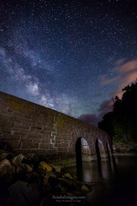 Milky Way over the Causeway